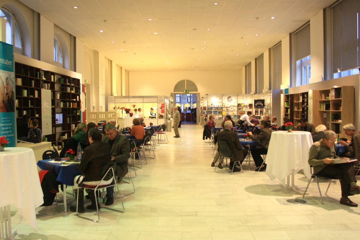 Buchcafé on the Stuttgarter Buchwochen