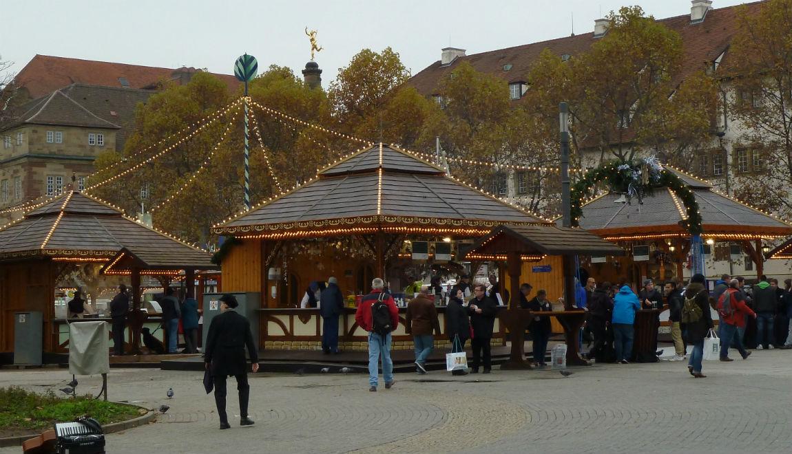 Wintertraum at Schlossplatz