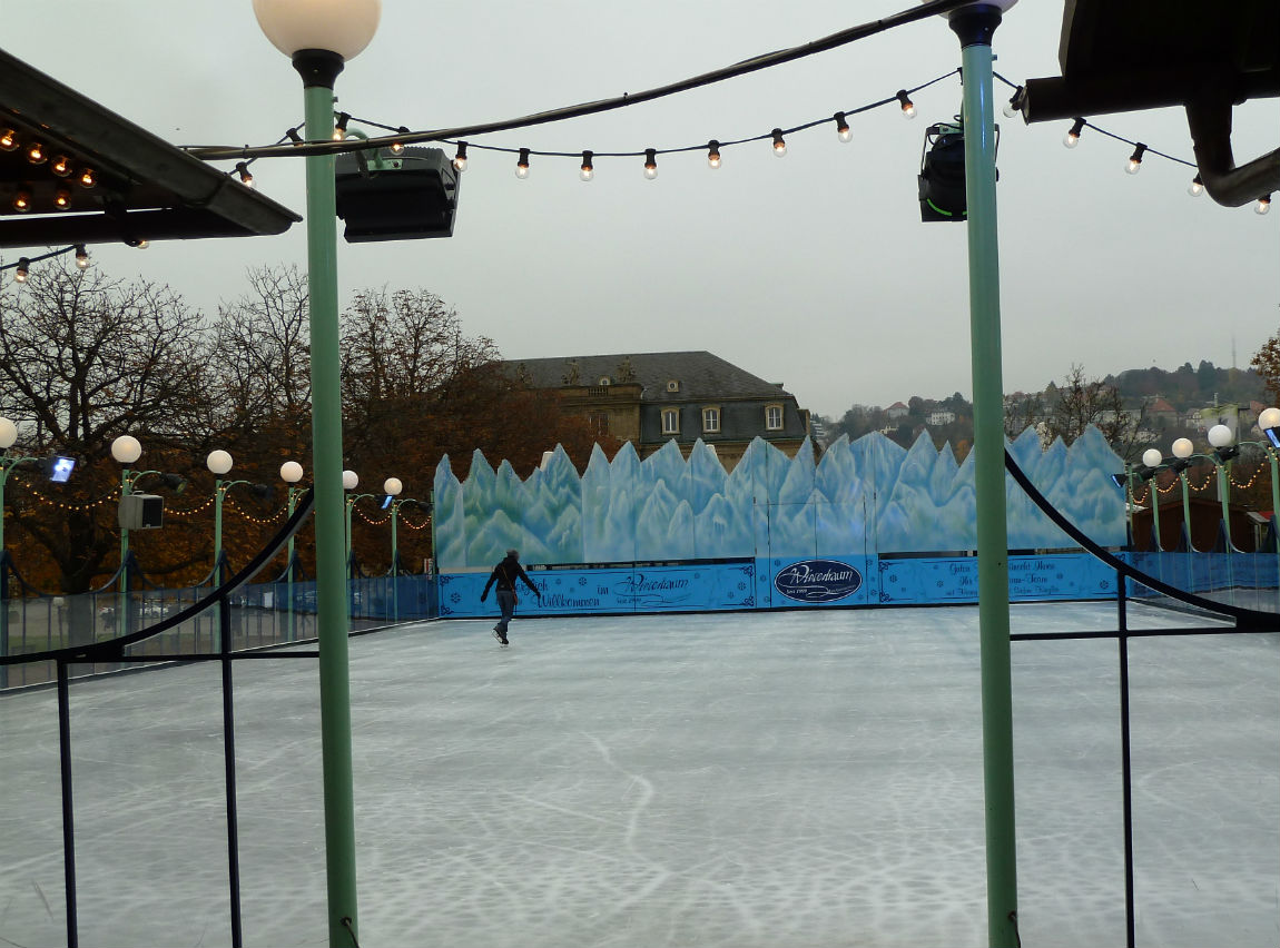 Skating rink at Wintertraum
