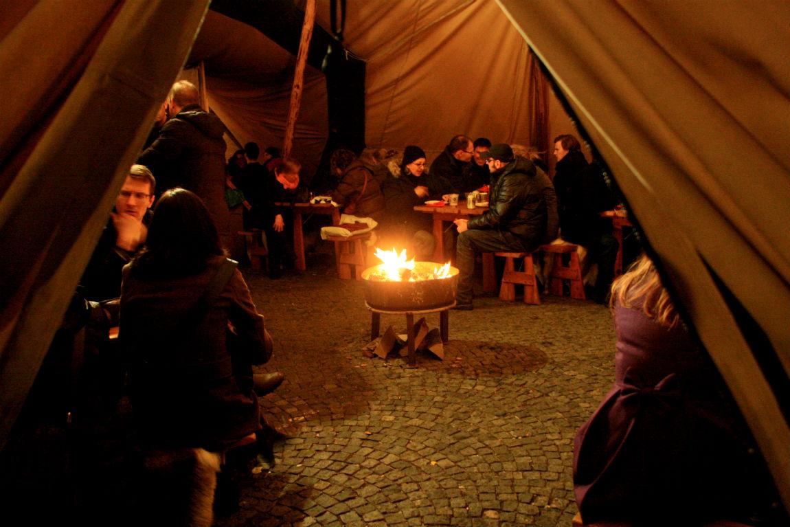 Cosy Finnish tent