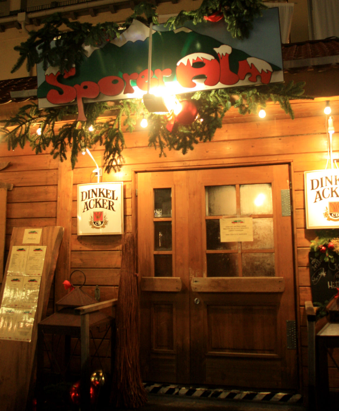 Sporer Alm on Stuttgart Christmas Market