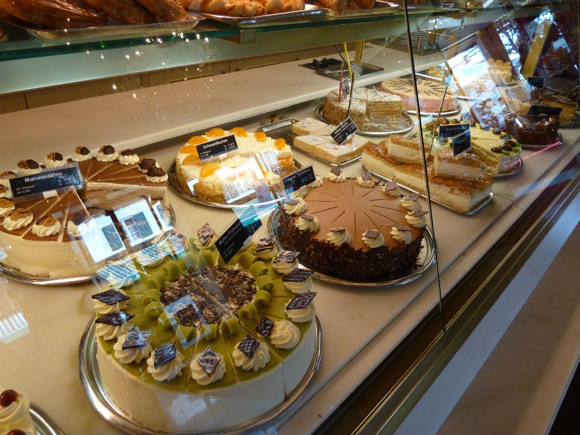 Café Krönner cakes