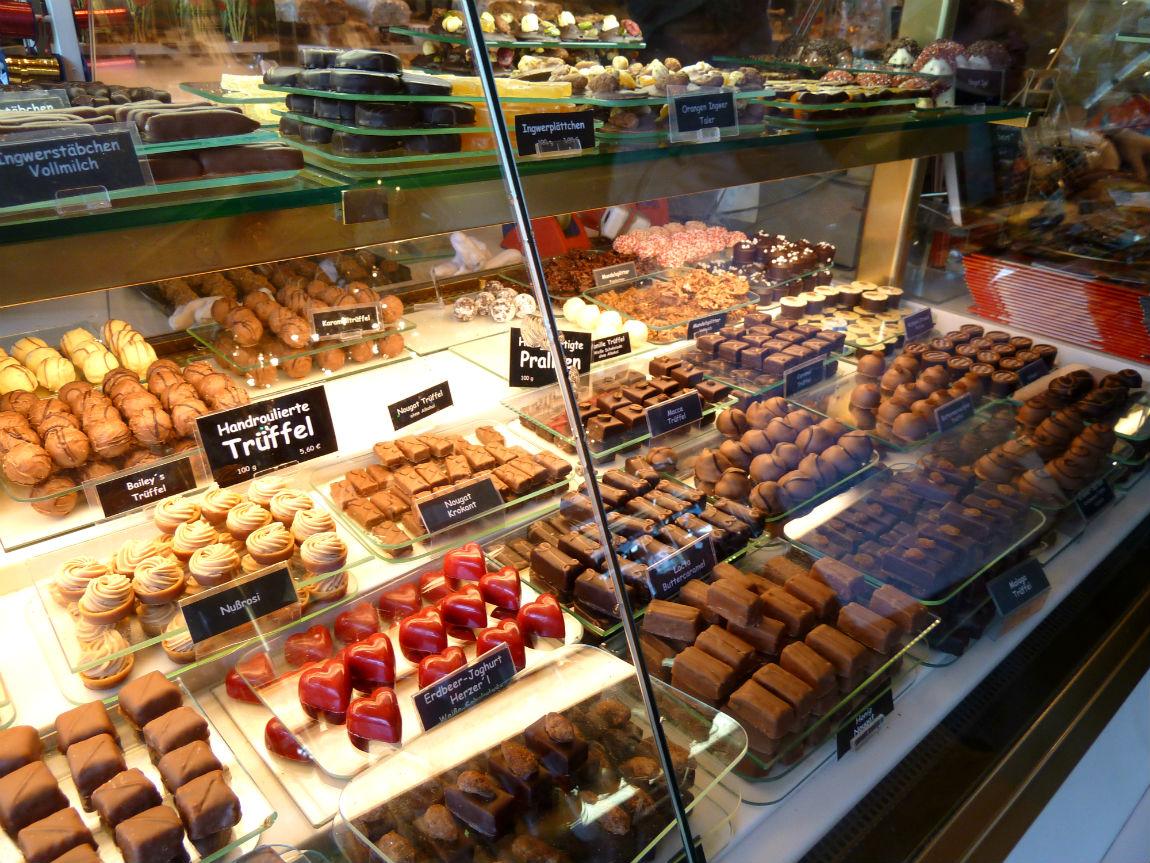 Café Krönner pralines and chocolate truffles