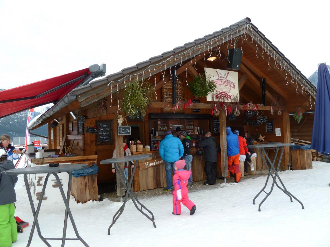Ski hut at the Hausberg