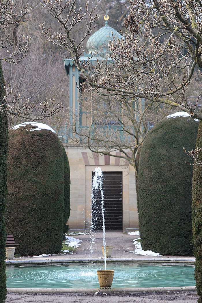 Fountain at Moorish Garden