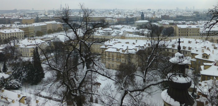 View from the back of Prague Castle