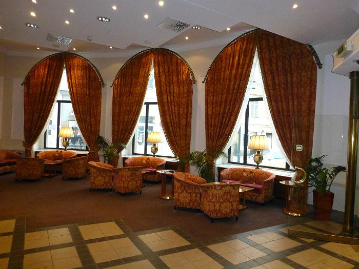 Grandhotel Bohemia in Prague - the lobby