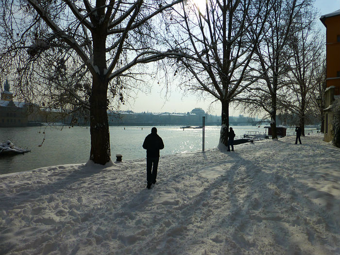 Kampa in winter