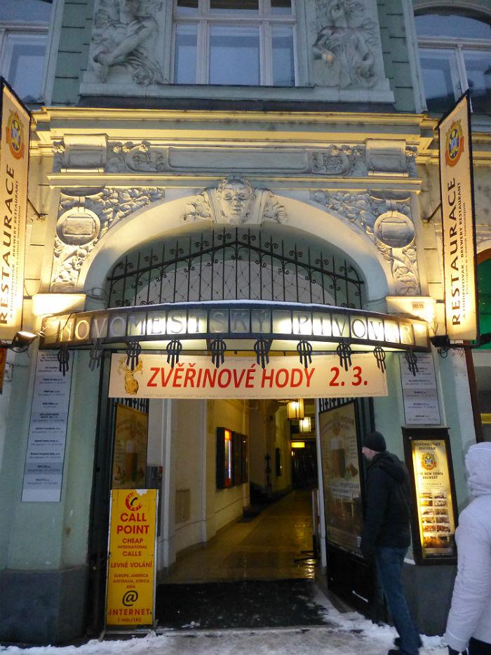 Novomestsky_Pivovar_Brewery in Prague