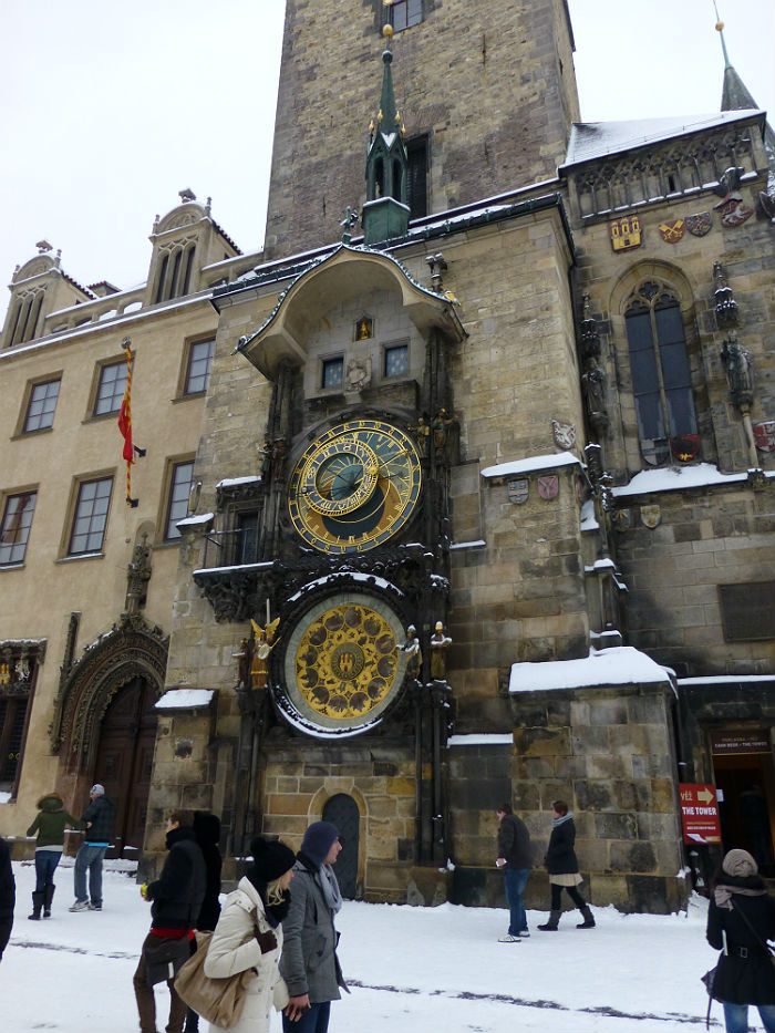 Prague Old Town City Hall with Astronomical Clock