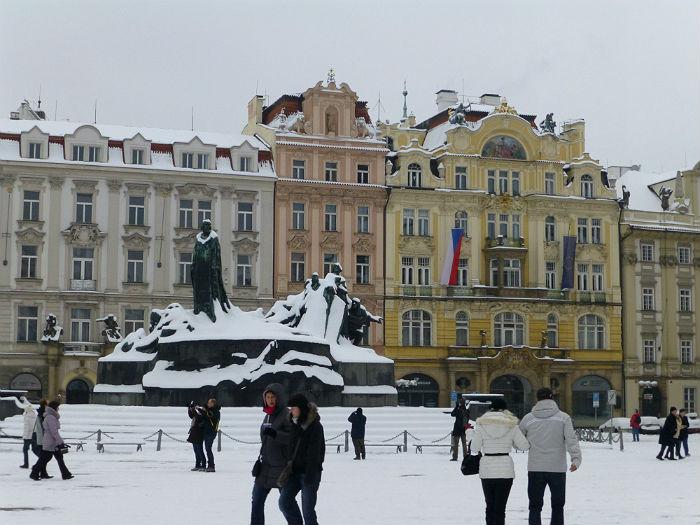 Jan Hus Memorial in Prague