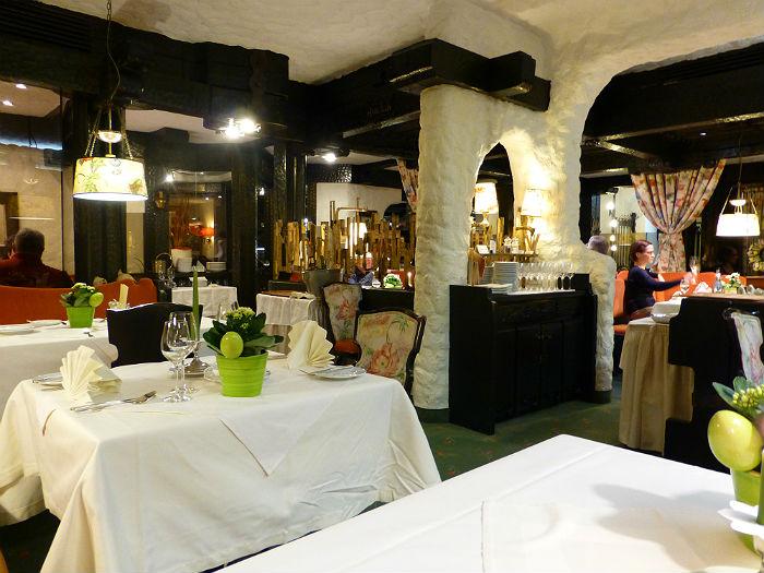 Restaurant Silberberg in Hotel Sackmann
