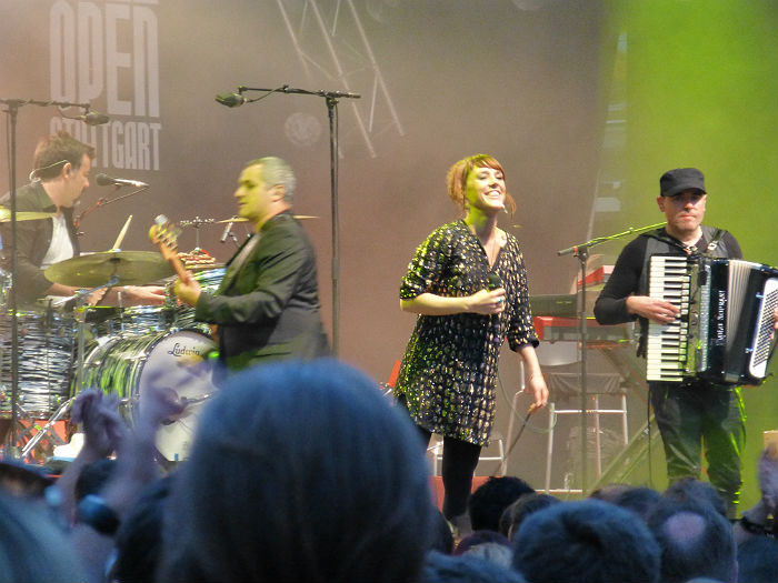 Zaz at Jazz Open in Stuttgart 2013