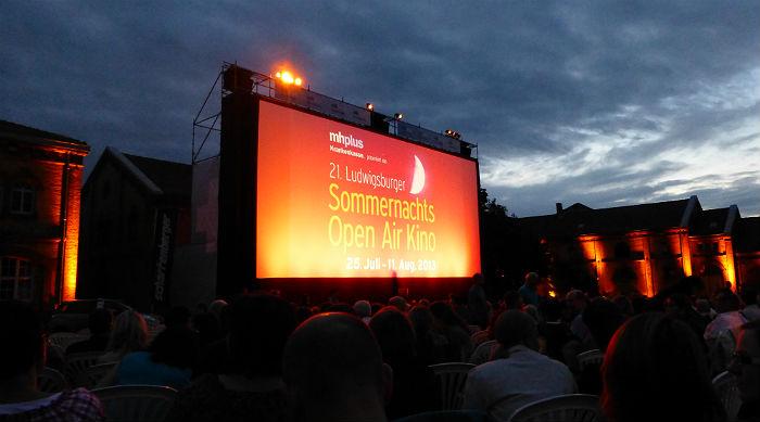Sommernachtskino Open Air Ludwigsburg 2013