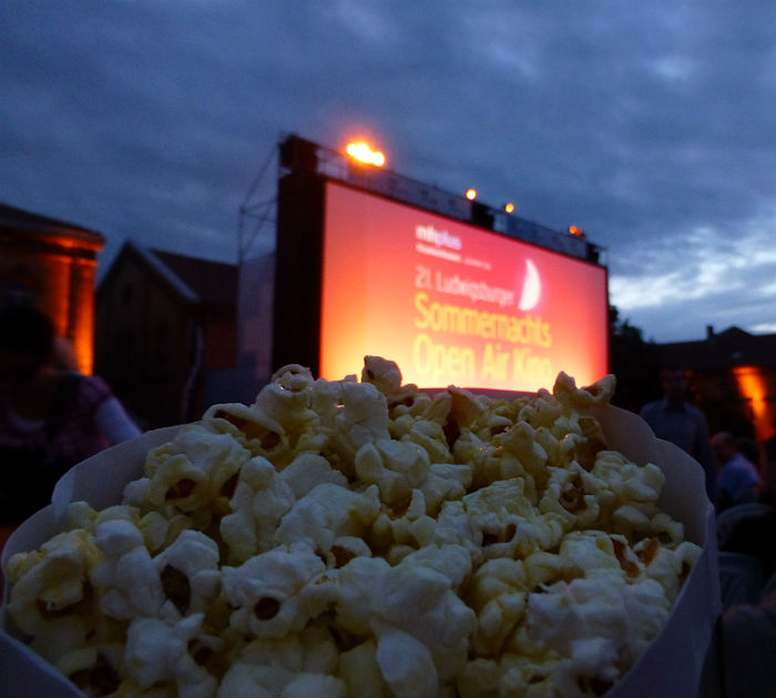 Popcorn and Open Air Cinema in Ludwigsburg