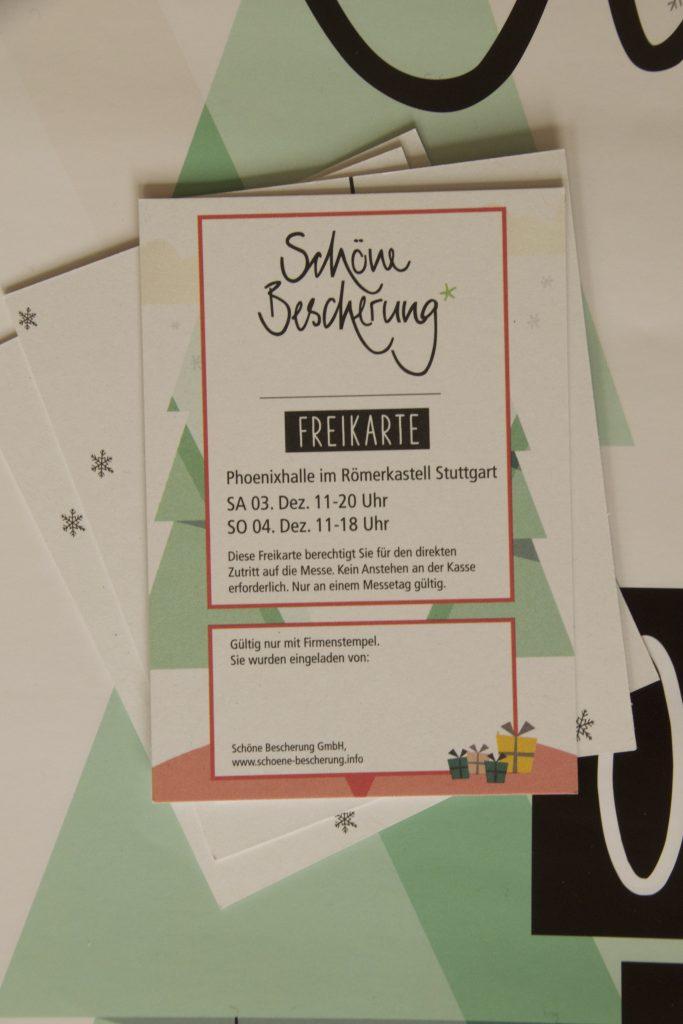 Win two Free tickets to the fair Schöne Bescherung sponsored by Sardine Shop