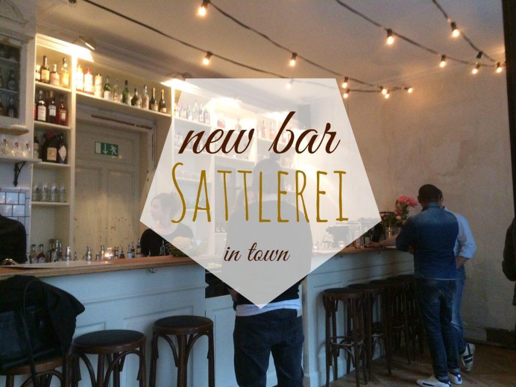 a new bar is born sattlerei on t binger strasse living in stuttgart. Black Bedroom Furniture Sets. Home Design Ideas