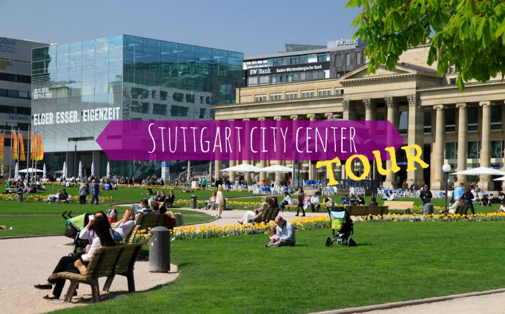 Stuttgart city center walking tour
