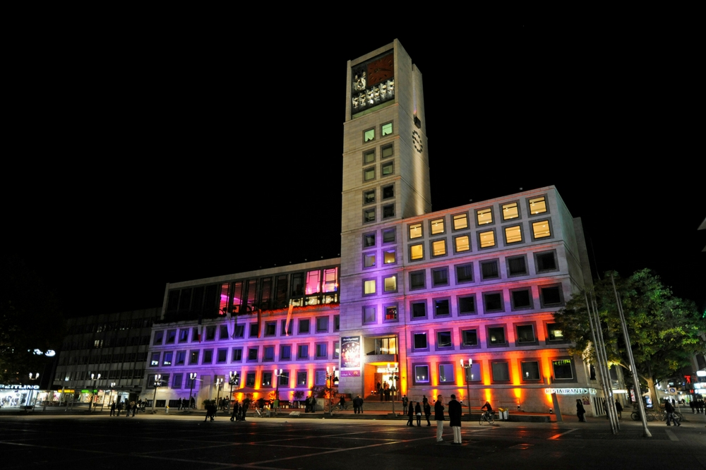 Visit the City Hall on Stuttgartnacht.