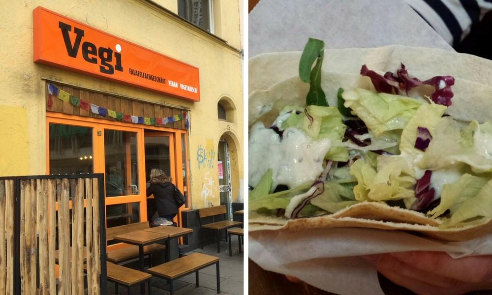 Enjoy vegetarian and vegan fast food at Veggi Stuttgart