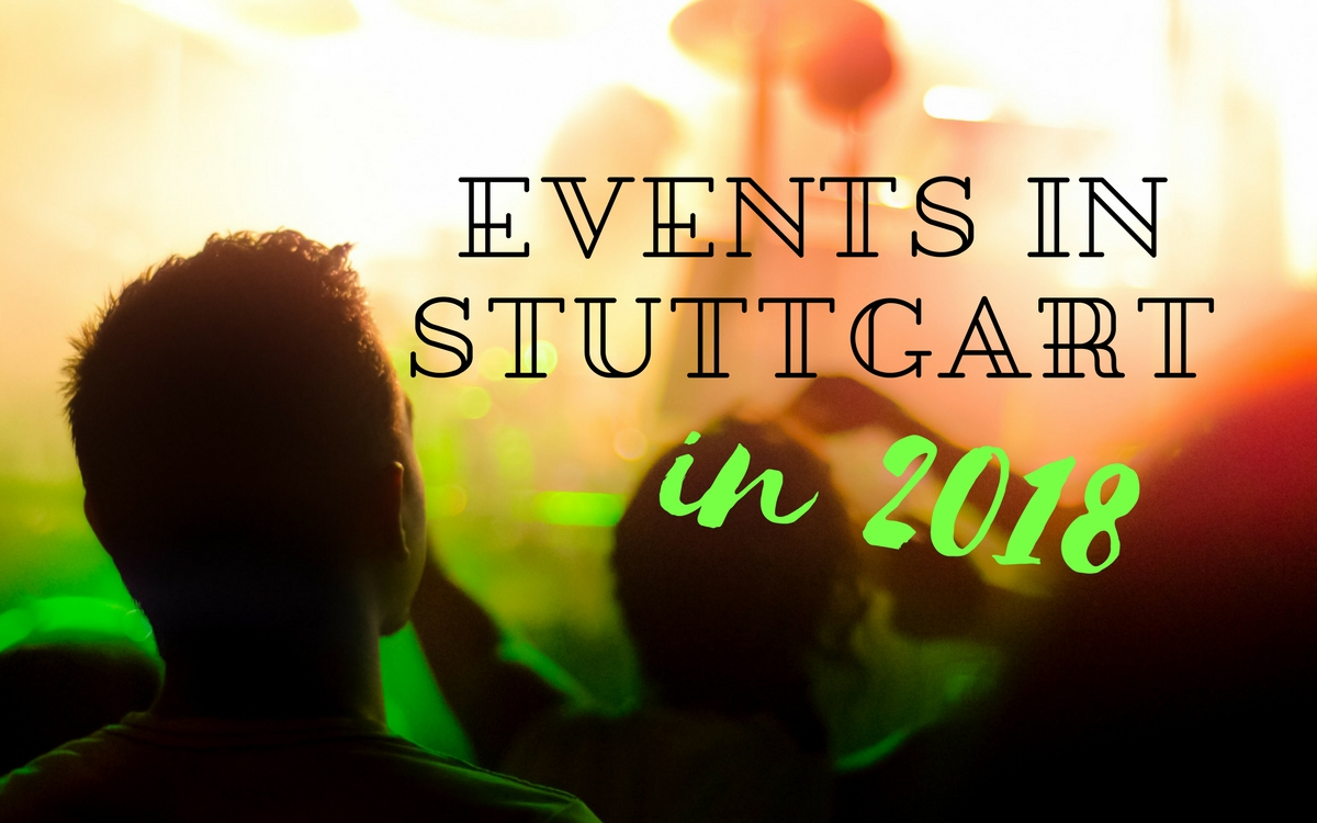 Events in Stuttgart in 2018