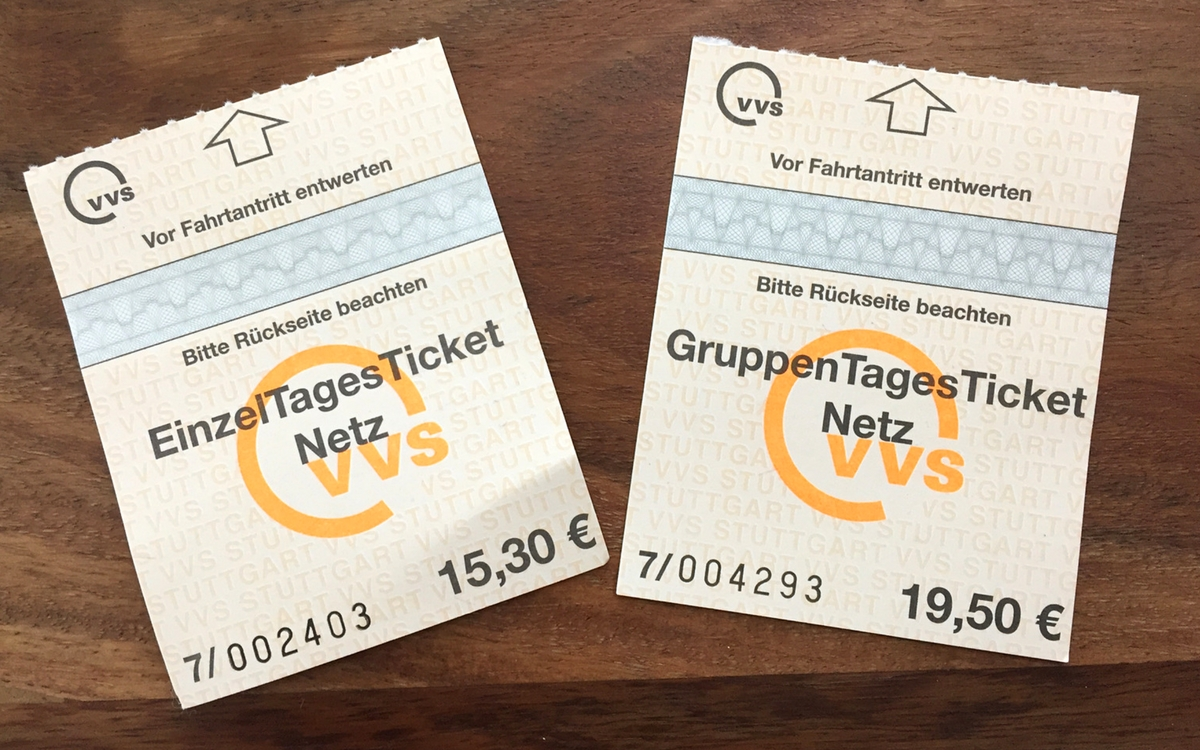 Public transport in Stuttgart: ticket options