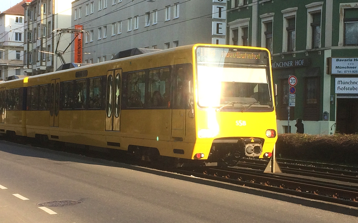 Public transport in Stuttgart: U Bahn