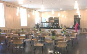 The Cafe at Stadtpalais Stuttgart