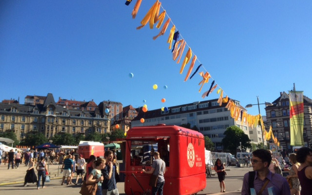Marienplatzfest is on this July in Stuttgart