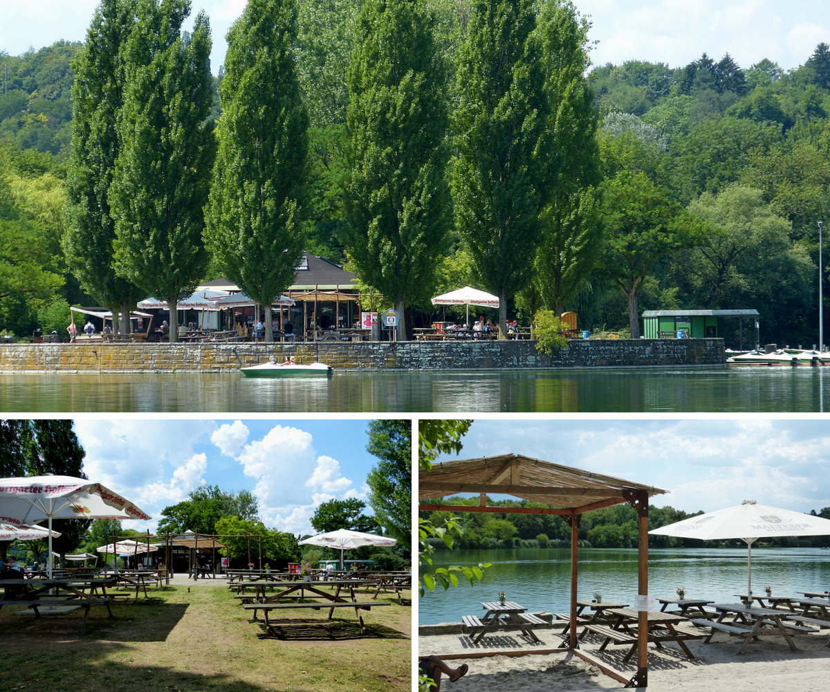 Beer garden at Max-Eyth-See