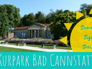Summer Sightseeing Kurpark Bad Cannstatt