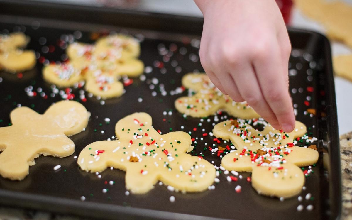 December in Stuttgart - baking Christmas Cookies
