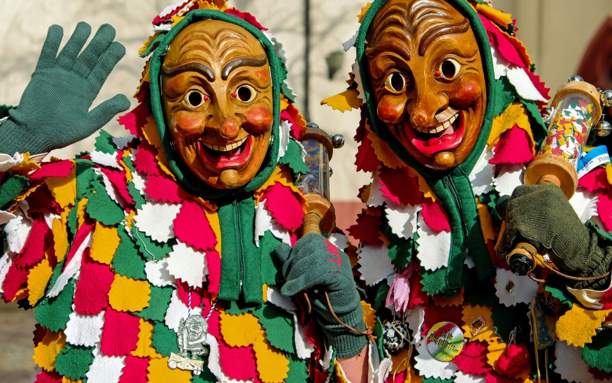 Fasching in Stuttgart costumes