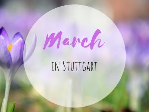 March in Stuttgart