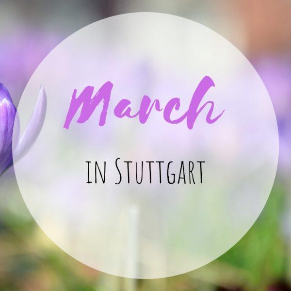 March in Stuttgart
