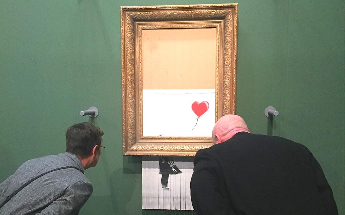 Staatsgalerie Stuttgart Banksy in Stuttgart