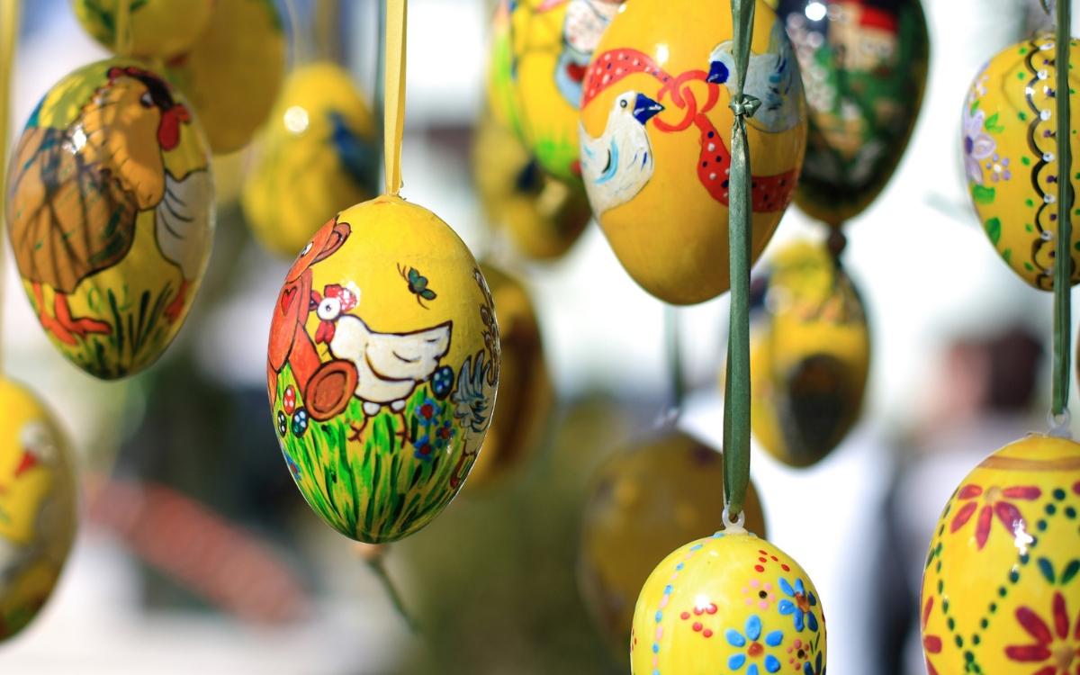 Easter in Stuttgart - Easter eggs