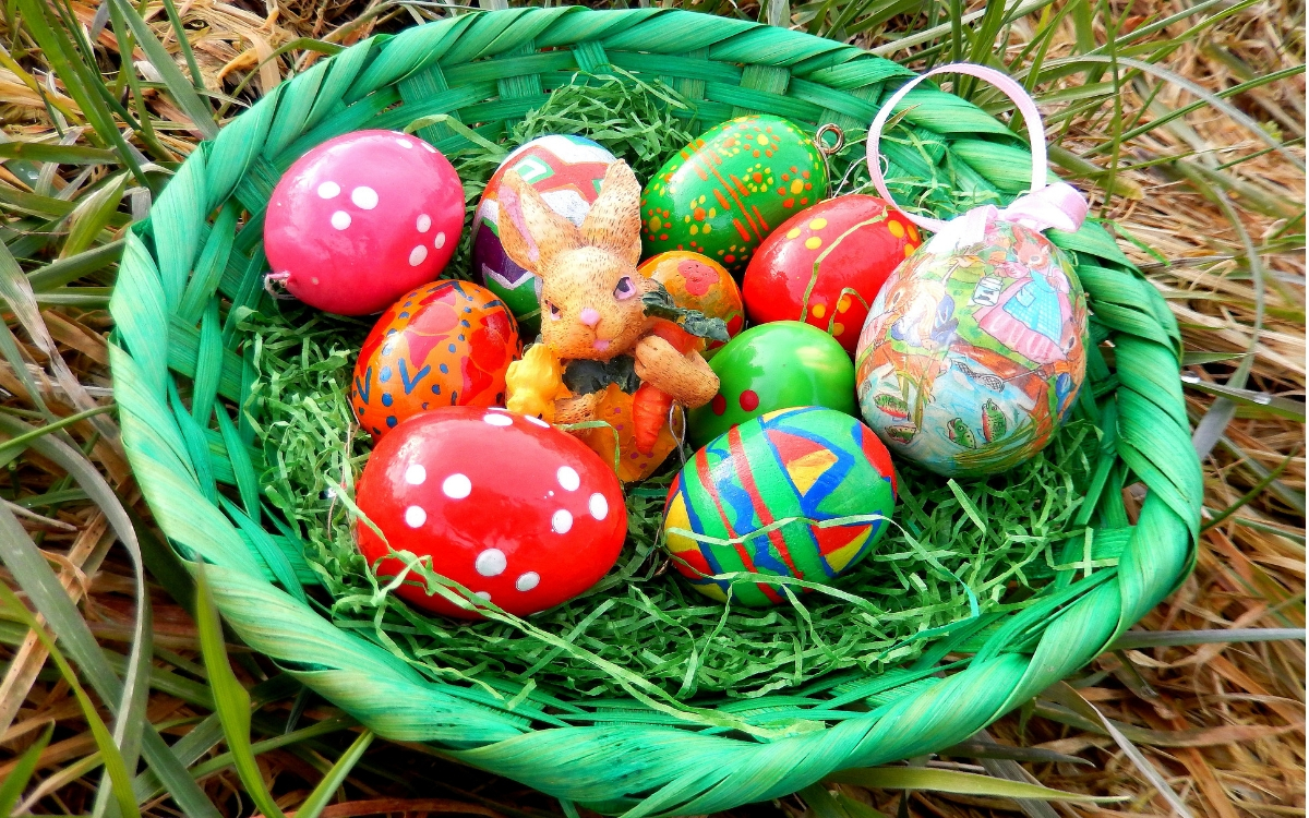 Easter in Stuttgart - Easter nest