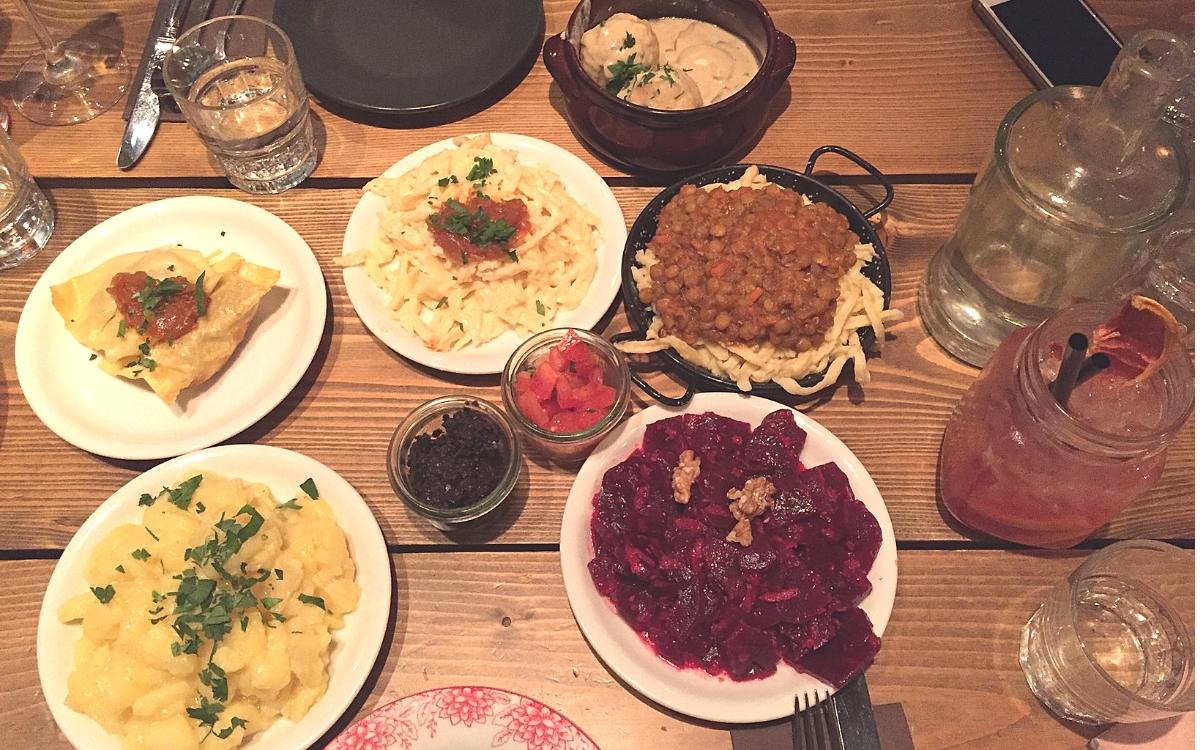 Gasthaus Bären in Stuttgart Swabian Tapas