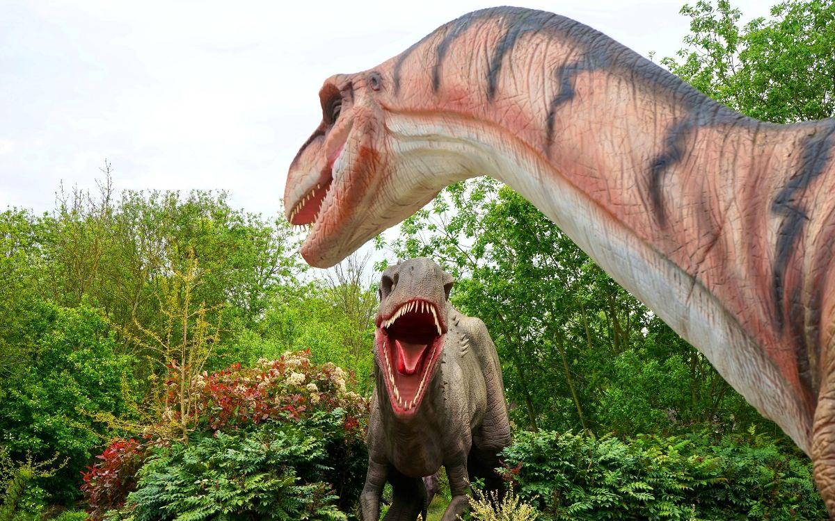 June in Stuttgart Dinosaur fair Boeblingen