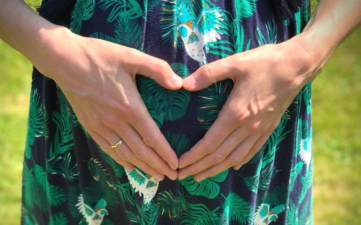 8 months pregnant in Stuttgart 5
