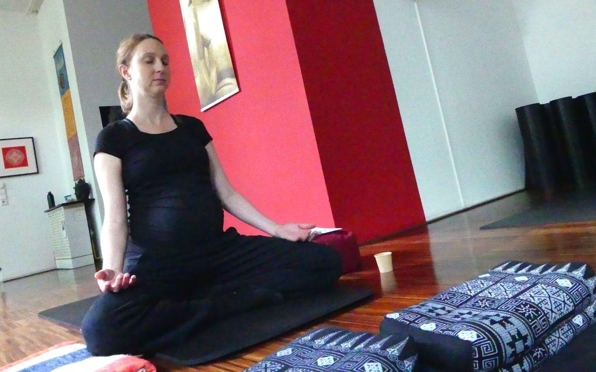 English meditation class in Stuttgart