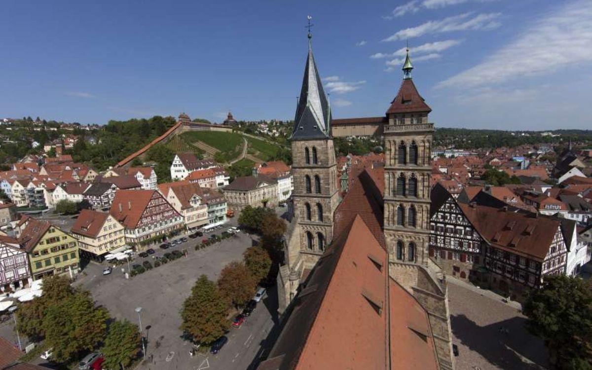 St Dionysius Church in Esslingen