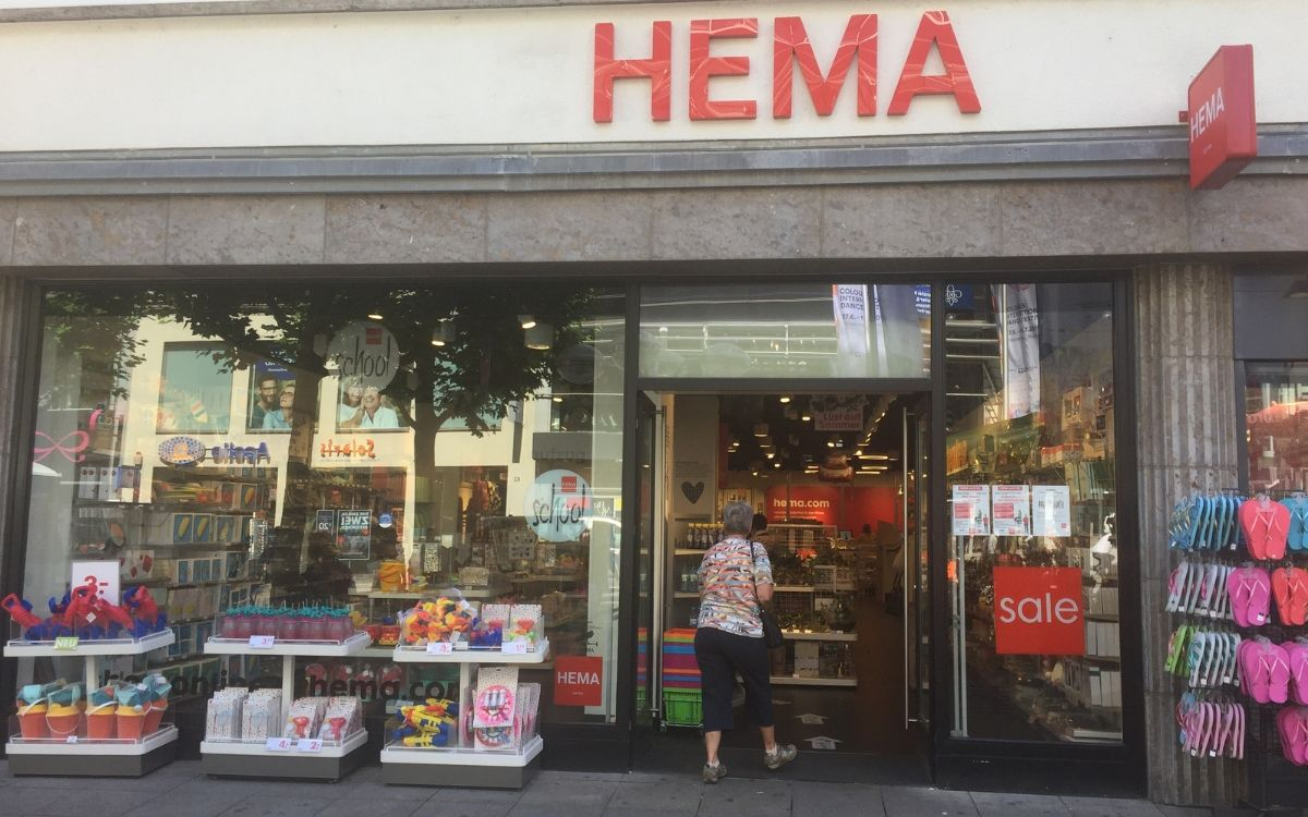 Baby finds in Stuttgart at Hema