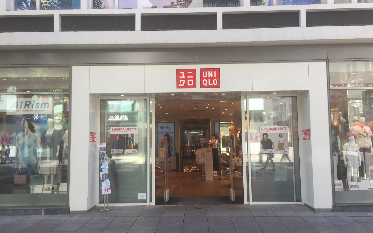 Baby finds at Uniqlo in Stuttgart