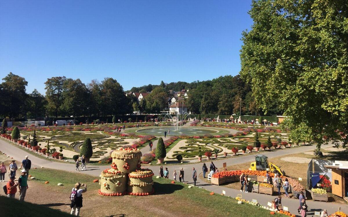 Kürbisausstellung Ludwigsburg garden