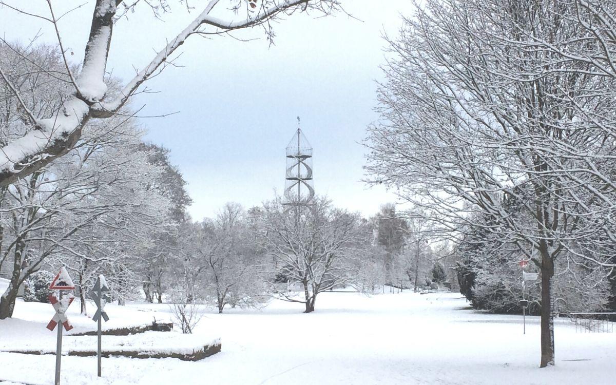 Winter in Stuttgart