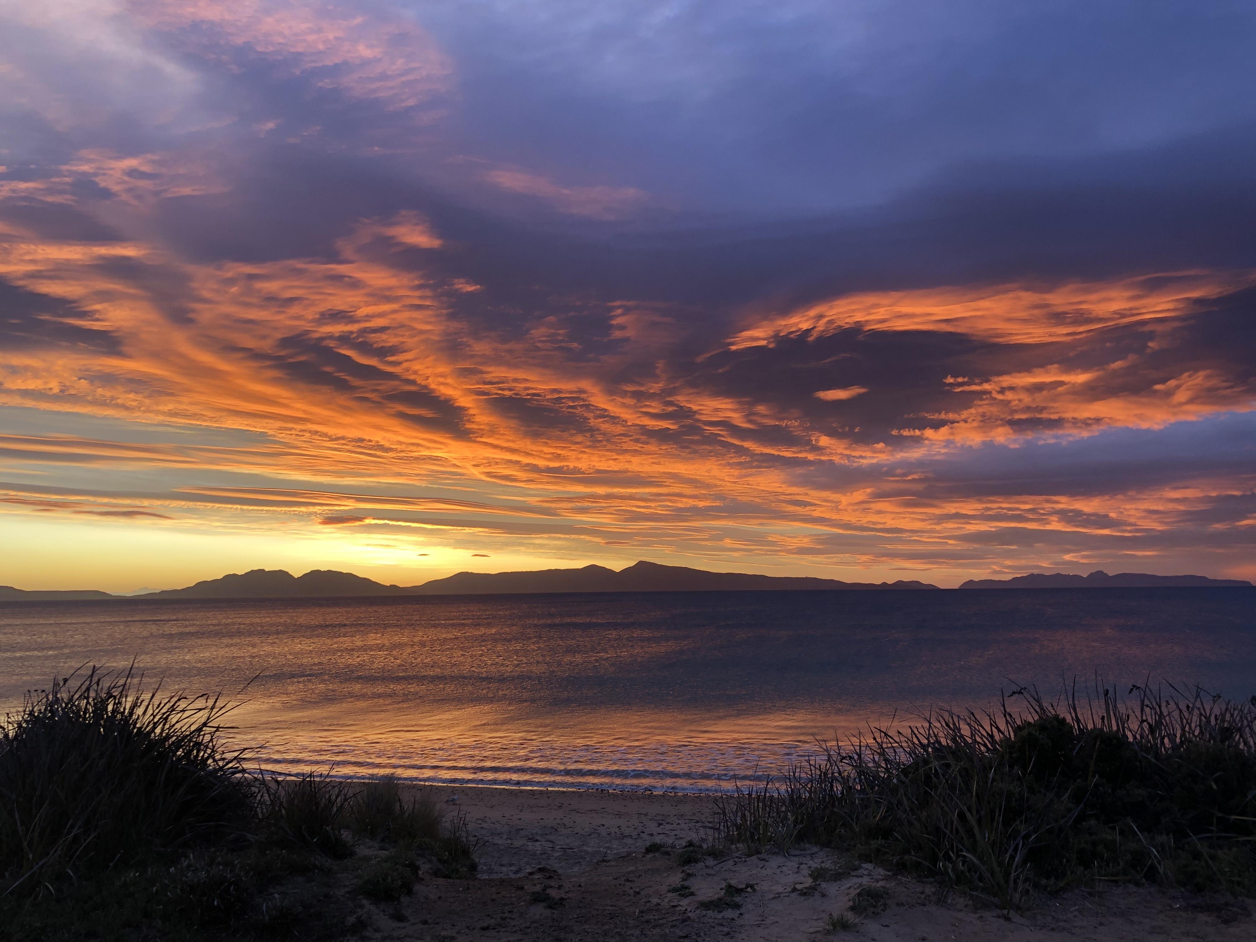 Sunrise Tasmania Swansea