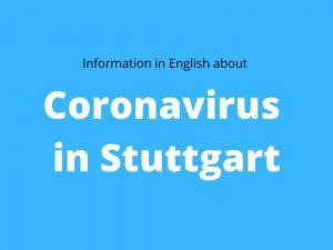 Coronavirus in Stuttgart in English