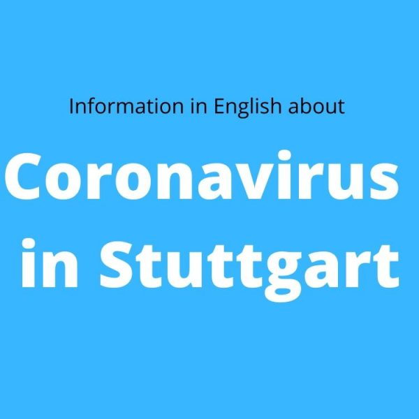Coronavirus in Stuttgart in English